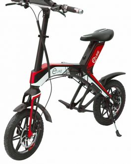 Electric scooter R1 red