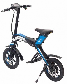 Electric scooter R1 blue
